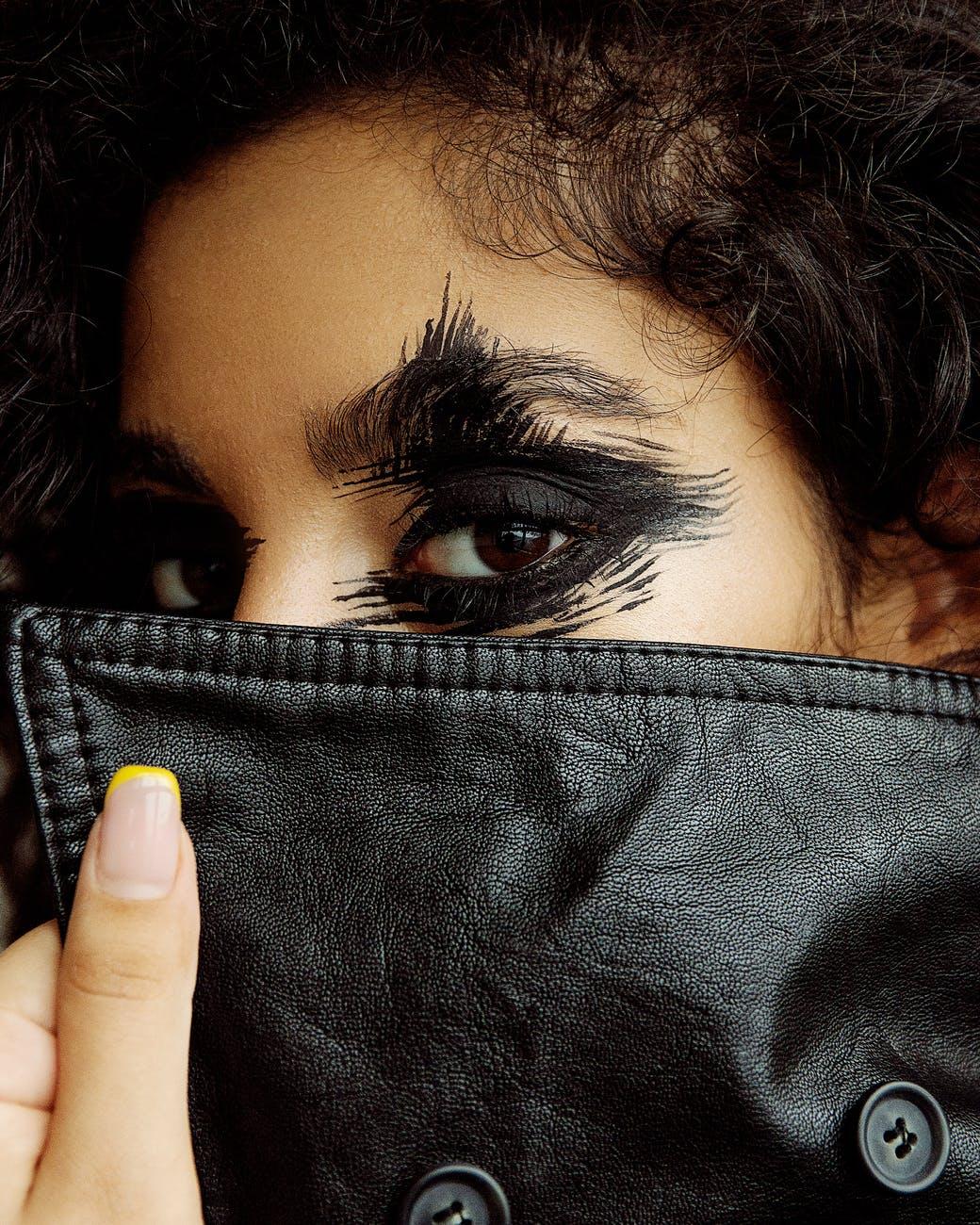 Women Black Leather Jacket - MauveTree